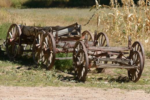 Old Wagon - Las Golondrinas